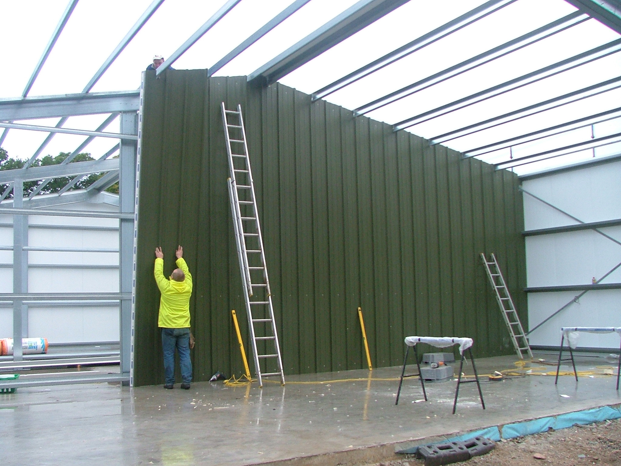 Insulated Steel building