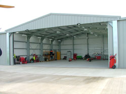 Steel Aircraft Hangers In The Uk